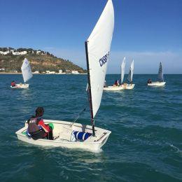 Première journée du championnat de Tunisie : laser, optimist, optimist team race, planche a voile, catamaran et 470